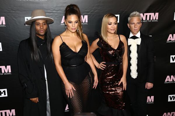 Law Roach, Ashley Graham, Rita Ora and Drew Elliott
