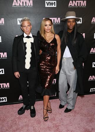 Drew Elliot, Rita Ora and Law roach