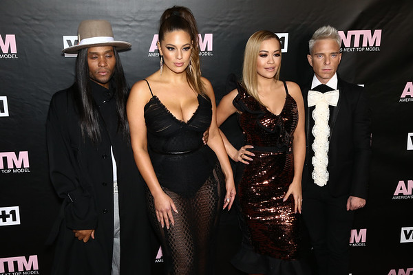 Law Roach, Ashley Graham, Rita Ora and Drew Elliott