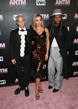Drew Elliot, Rita Ora and Law roach