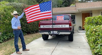 AAA SANDER FLAG TRUCK DRIVEWAY