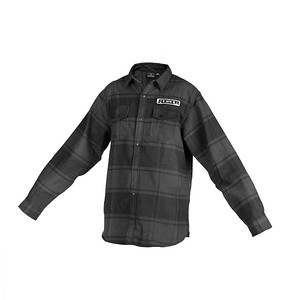 REEB_Longsleeve_Pendleton_Shirt_Black_Gray