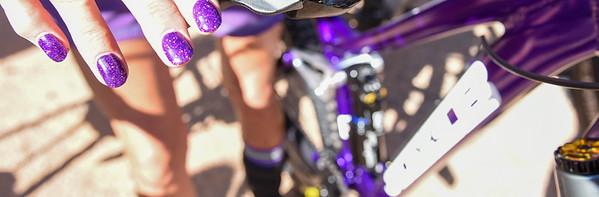 Purple Nails Banner