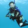 Tammy underwater