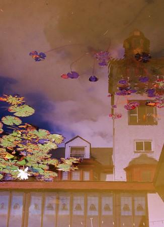 The Lodge, Cloudcroft, NM, reflection