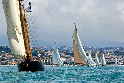 Régate à Antibes 2008