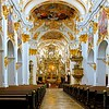 Interior of Old Chapel in Regensburg, Germany