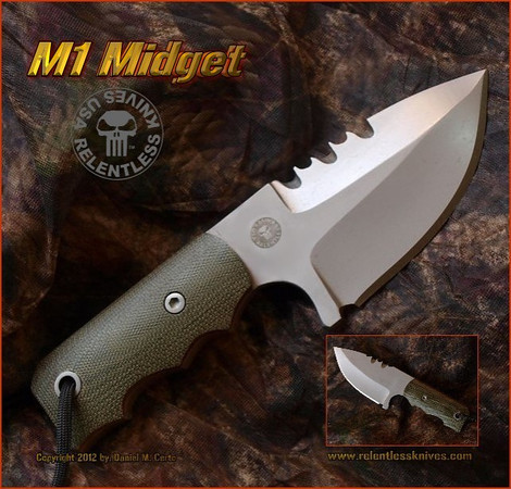 Relentless Knives M1 Midget