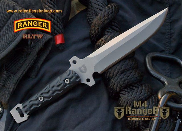 RELENTLESS M4 RANGER  Non Serrated