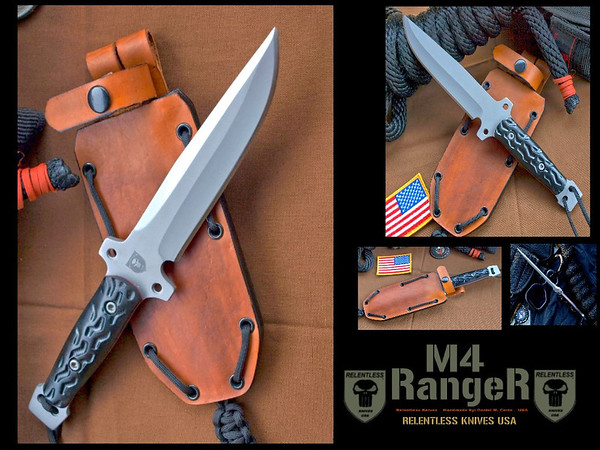 Relentless Knives M4 Ranger Lite