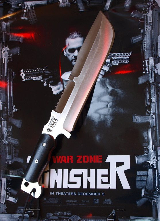 "RELENTLESS M4X  OFFICIAL KNIFE OF <br /> ""The PUNISHER"" seen in 2008 Moviie PUNISHER WAR ZONE"
