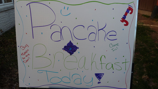 St. James Lutheran Church pancake breakfast