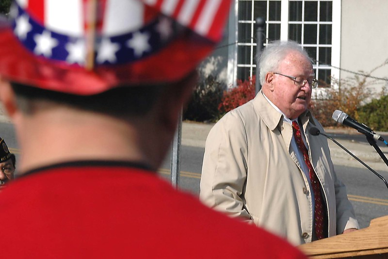 Veteran's Memorial Dedication, King, North Carolina 2004... plus