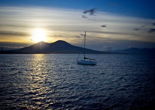 Sunrise at Naples Harbor