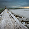 Snowy Pier