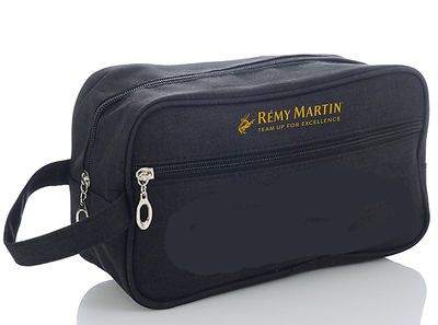 600- Unisex Black Travel Bag