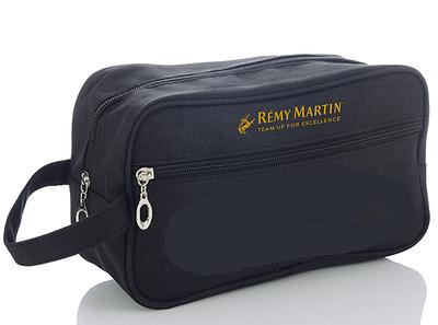 600- Unisex Black Travel Bag