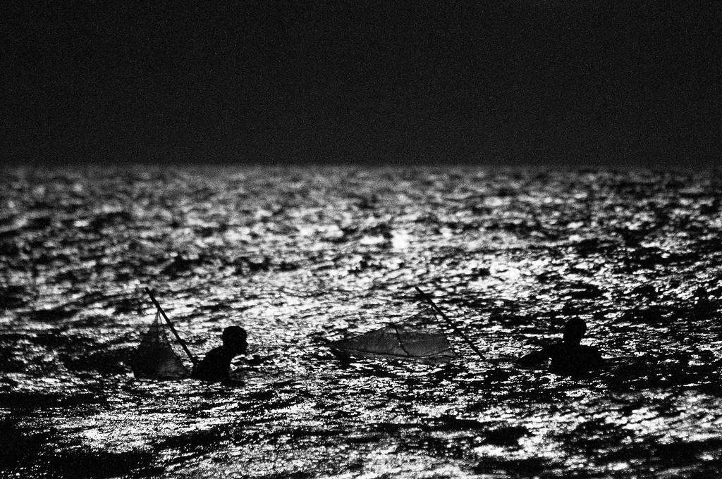 2011-12, fishing in the moonlight.