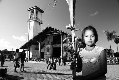 The day of the branches or Palm Sunday in San Ignacio.