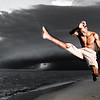 2009-07 Beira - BBJ Beira Beach Jump.