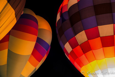 Halloween balloon glow 3