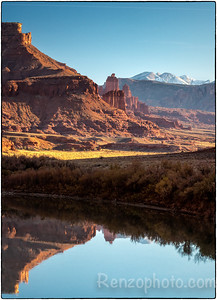 Fisher Towers, Colorado River near Moab
