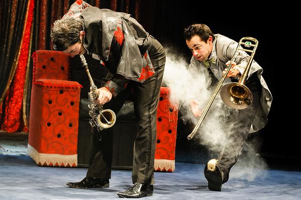 Pablo Nordio e Fernando Paz - Circo Zanni - Novembro 2012