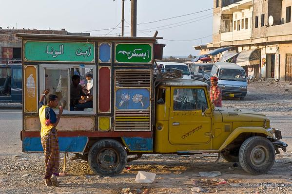 Hadiboh, ville principale • Hadiboh, main city