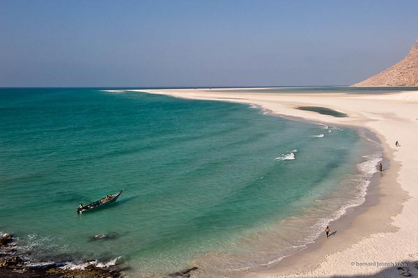 Plage à Qalansiyah • Beach near Qalansiyah