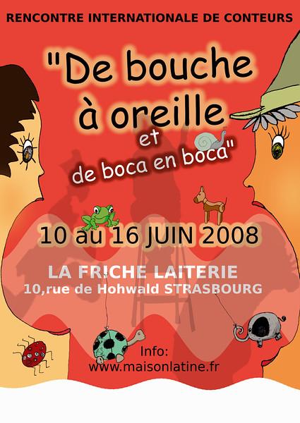 """Maison de l'Amérique Latine de Strasbourg  """" De Bouche à Oreille et de Boca en Boca """""""