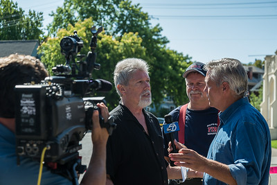 ABC7 Interviews Napa Fire Captain & Pastor of  First United Methodist Church