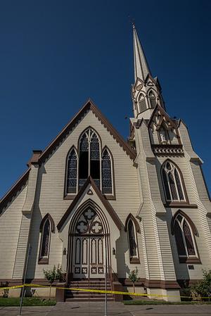 First Presbyterian Church Windows