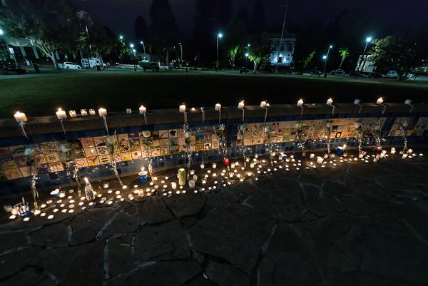 Vigil for Irish Students