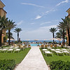 Ritz Carlton, Palm Beach, on the beach