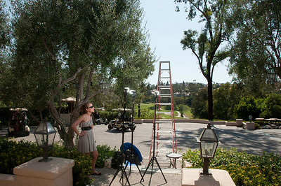 Rancho Bernardo Inn - Getting ready for a group photo