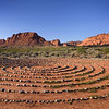 "Utah Red Mountain Spa -- 2007 Dr. Fuhrman Health Getaway -- Spiral Circle walking area . . . Ctrl &  <a href=""http://www.RedMountainSpa.com"">http://www.RedMountainSpa.com</a> . . . Public domain photo from their website"