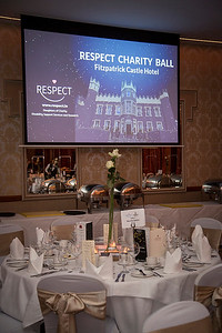 Photographed at the Respect Charity ball on Saturday night were