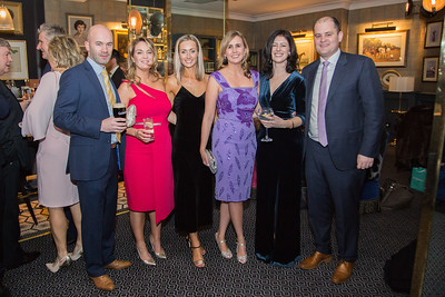 Photographed at Saturday's Respect charity ball in killiney fitzpatrick hotel were Peter Hinds, Aileen NicAdodha, Denise Moppett, Louise Ó'Gogáin, Catherine Doyle and Cillian Ó'Gogáin