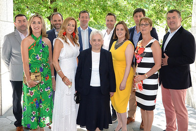 09/06/18.  The Respect committee at the Summer Respect lunch at the Intercontinental hotel in Dublin. Pic: Justin Farrelly
