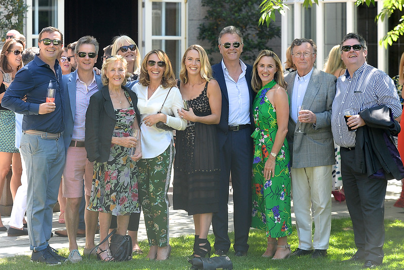 09/06/18. The Hourihan family at the Summer Respect lunch at the Intercontinental hotel in Dublin. Pic: Justin Farrelly