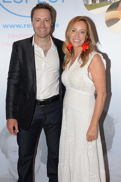 09/06/18. Keith Barry and Vanessa Kilduff at the Summer Respect lunch at the Intercontinental hotel in Dublin. Pic: Justin Farrelly