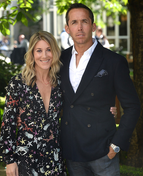 09/06/18. Marcus Obernik and Claire Walsh at the Summer Respect lunch at the Intercontinental hotel in Dublin. Pic: Justin Farrelly