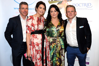 Sheena and Tim Hennessy with Sinead and John Crowe at the Respect Summer Lunch at the Intercontinental Hotel in Dublin. The annual event raises much needed funds for the charity who work to improve the lives of those with intellectual disabilities. Photo : Justin Farrelly.
