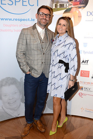 Dylan and Charlotte Bradshaw at the Respect Summer Lunch at the Intercontinental Hotel in Dublin. The annual event raises much needed funds for the charity who work to improve the lives of those with intellectual disabilities. Photo : Justin Farrelly.