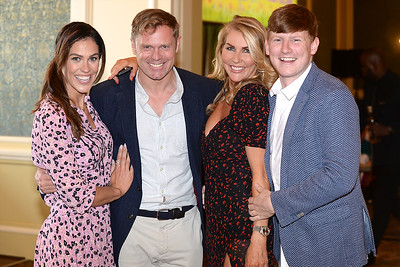 Glenda Gilson, Michael Sharpe, Dannielle Hayes and Jack Brennan at the Respect Summer Lunch at the Intercontinental Hotel in Dublin. The annual event raises much needed funds for the charity who work to improve the lives of those with intellectual disabilities. Photo : Justin Farrelly.