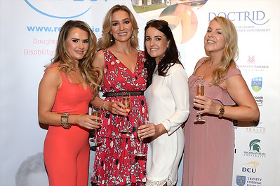 Kelly Rafferty and Sarah O'Neill with Jennifer Lee and Marie Louise Heavey at the Respect Summer Lunch at the Intercontinental Hotel in Dublin. The annual event raises much needed funds for the charity who work to improve the lives of those with intellectual disabilities. Photo : Justin Farrelly.