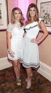 Rachel Loughman and Louise Loughman  pictured at the  Respect Summer Lunch in the Intercontinental  Hotel in Ballsbridge,Dublin Picture Brian McEvoy No repro fee