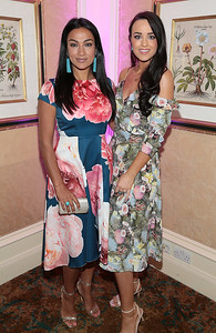Gail Kaneswaran and Emily MacKeogh pictured at the  Respect Summer Lunch in the Intercontinental  Hotel in Ballsbridge,Dublin Picture Brian McEvoy No repro fee