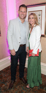 Gavin Barry and Laura Barry pictured at the  Respect Summer Lunch in the Intercontinental  Hotel in Ballsbridge,Dublin Picture Brian McEvoy No repro fee