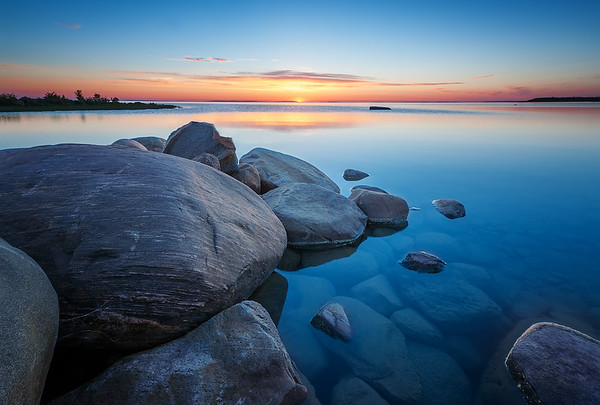 GEORGIAN BAY MORNING STILLNESS